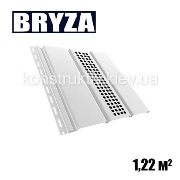 Панель софит перфорированная, 4х0,31м, белый