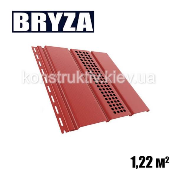 Панель софит перфорированная, 4х0,31м, красный
