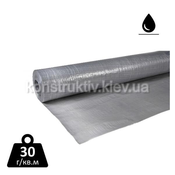 Пароизоляционная пленка серебристая, 75 м кв