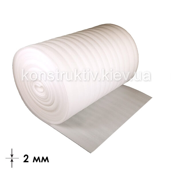 Подложка под ламинат ППЕ 2мм*1м*50м