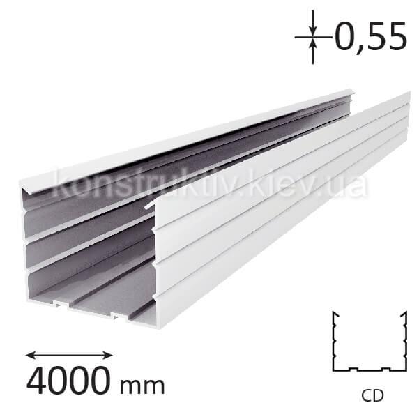 Профиль для гипсокартона CD 60, 4,0 м (0,55)