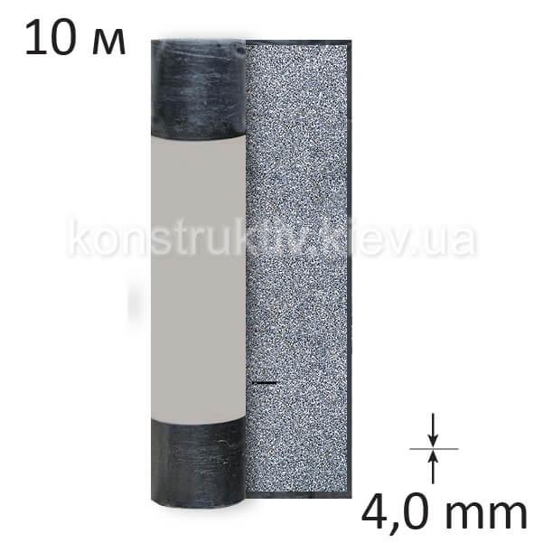 Рубероид кровельный Изолит Стеклополимаст ХКП 4,0, 10 м