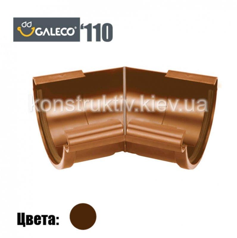 Угол внешний/внутренний 135 гр. (RAL 8017), Galeco 110