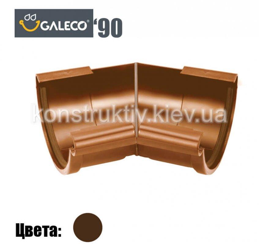 Угол внешний/внутренний 135 гр., Galeco 90 (RAL 8019)