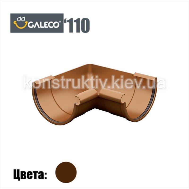 Угол внешний/внутренний 90 гр. (RAL 8017), Galeco 110