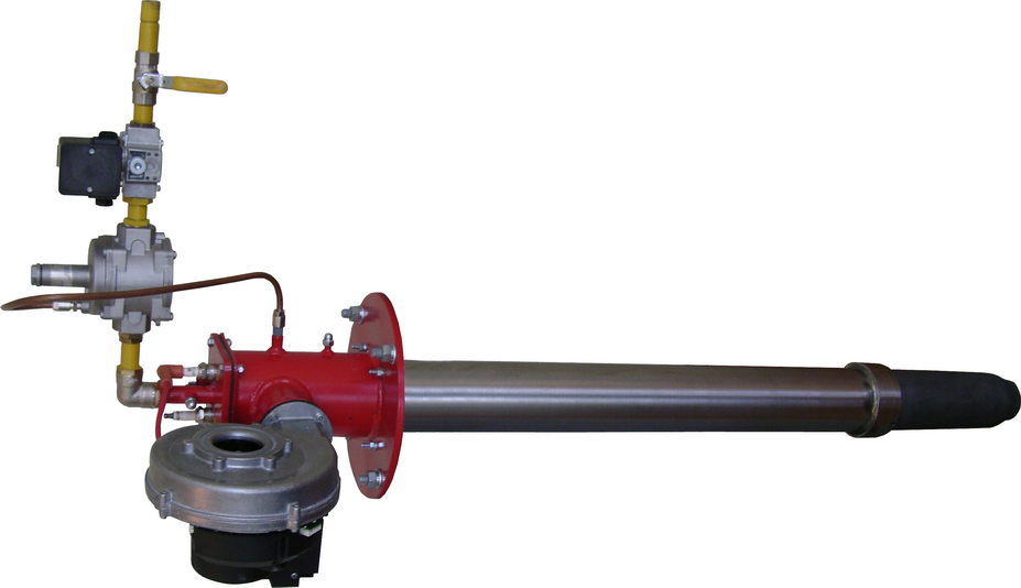 обычная двухрожковая газовая горелка для частного дома