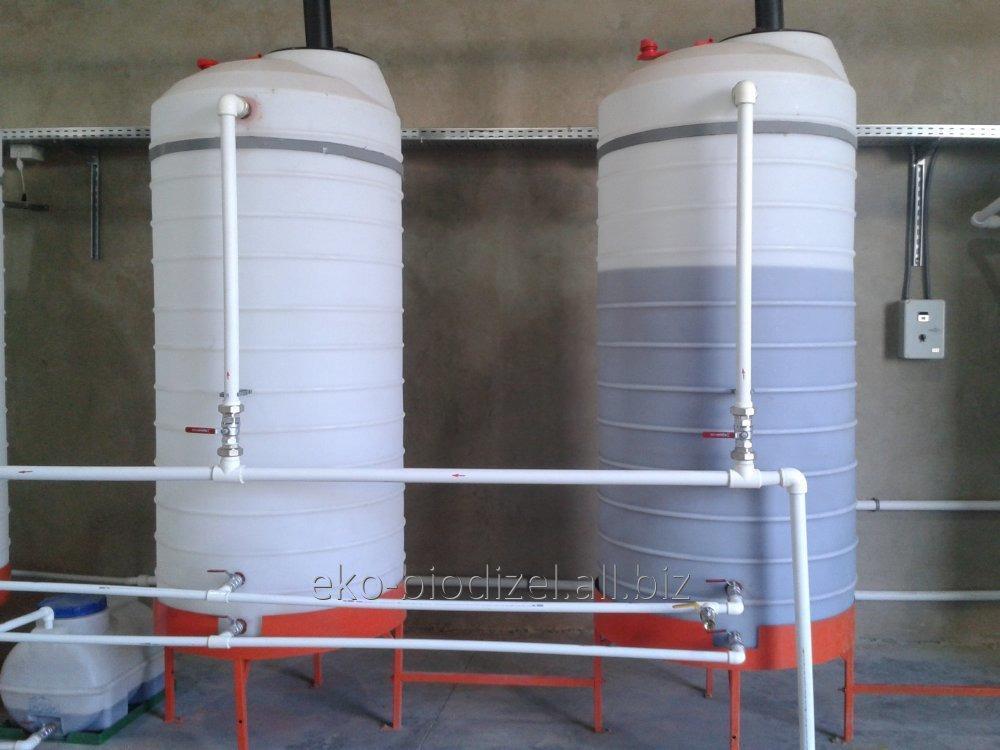 Купить Биодизельный мини-завод 500 литров за час беспрерывного действия