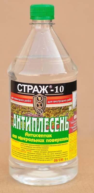 Купить Антисептик по минеральным поверхностям Страж-10, канистра 1л