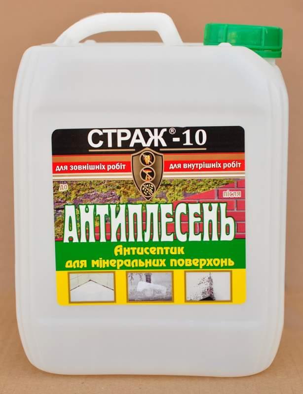 Купить Антисептик по минеральным поверхностям Страж-10, канистра 5л