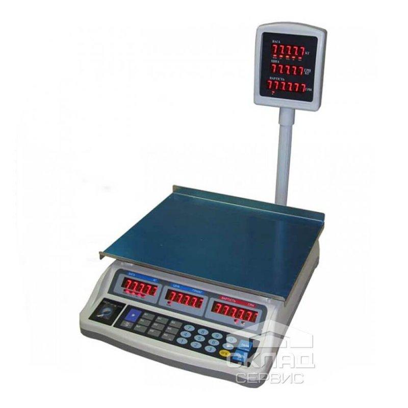 Купить Торговые весы ВТД-ЕЛ-2 6 LED