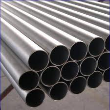Pipes of round section always available with delivery.