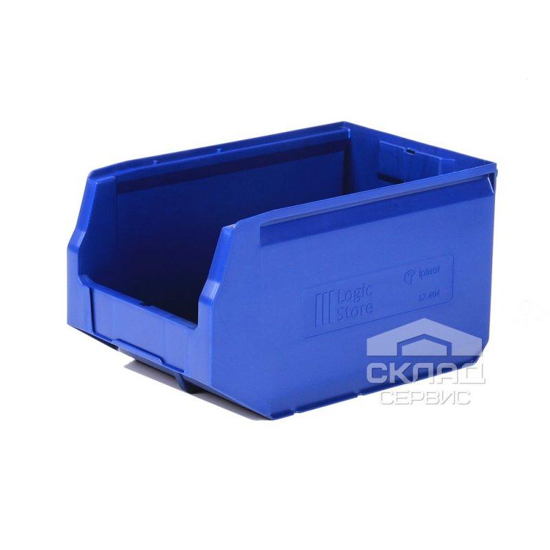 Купить Пластиковый лоток Logic Store 12.404 (350х225х200 мм) синий