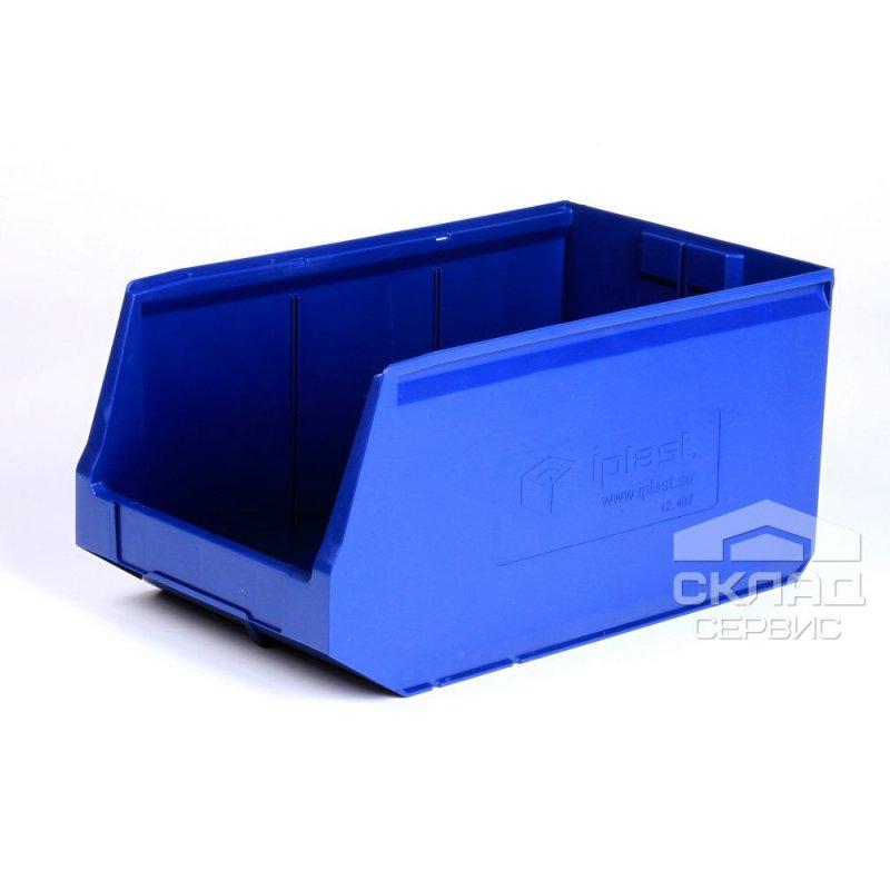 Купить Пластиковый лоток Logic Store 12.407 (500х300х250 мм) синий