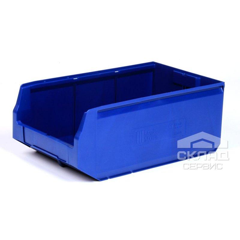Купить Пластиковый лоток Logic Store 12.406 (500х300х200 мм) синий