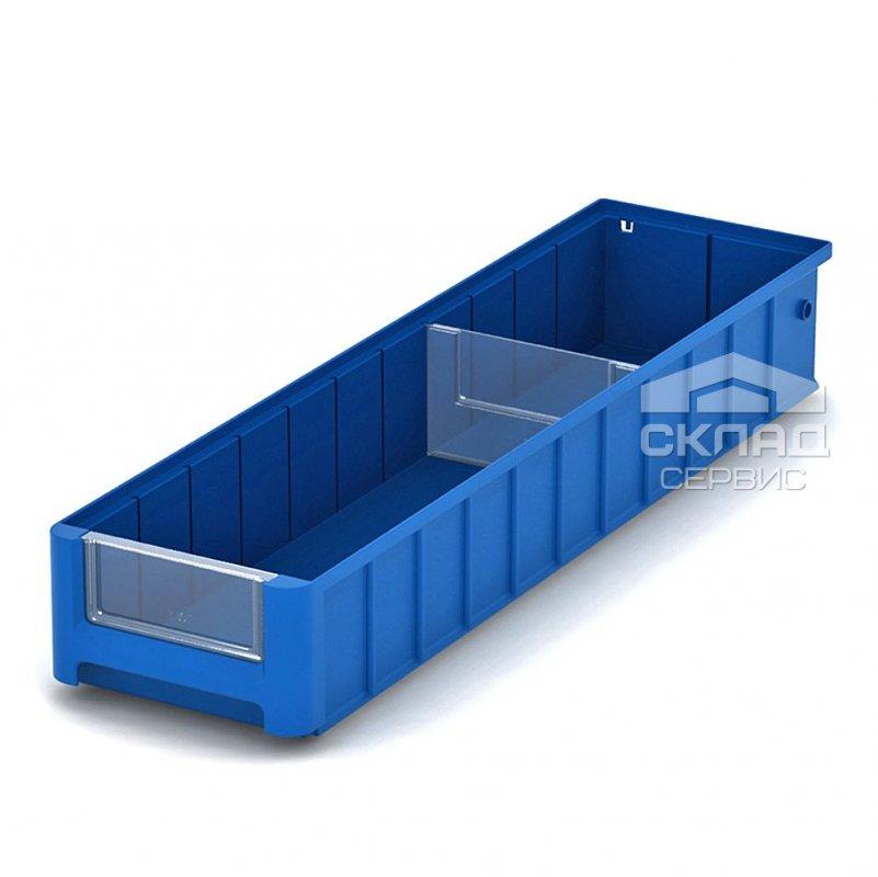 Купить Полочный пластиковый контейнер (SK 61509) 600x156x90 мм синий