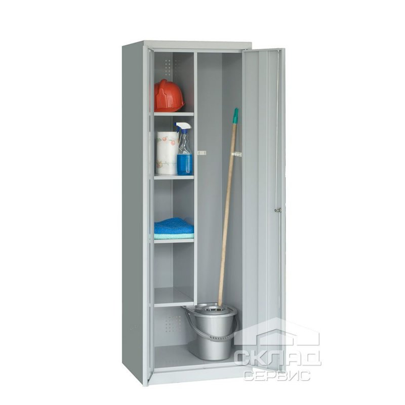 Купить Металлический шкаф хозяйственный Smd-62 (1800x600x500 мм)