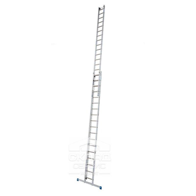 Купить Лестница выдвижная Stabilo 2x18