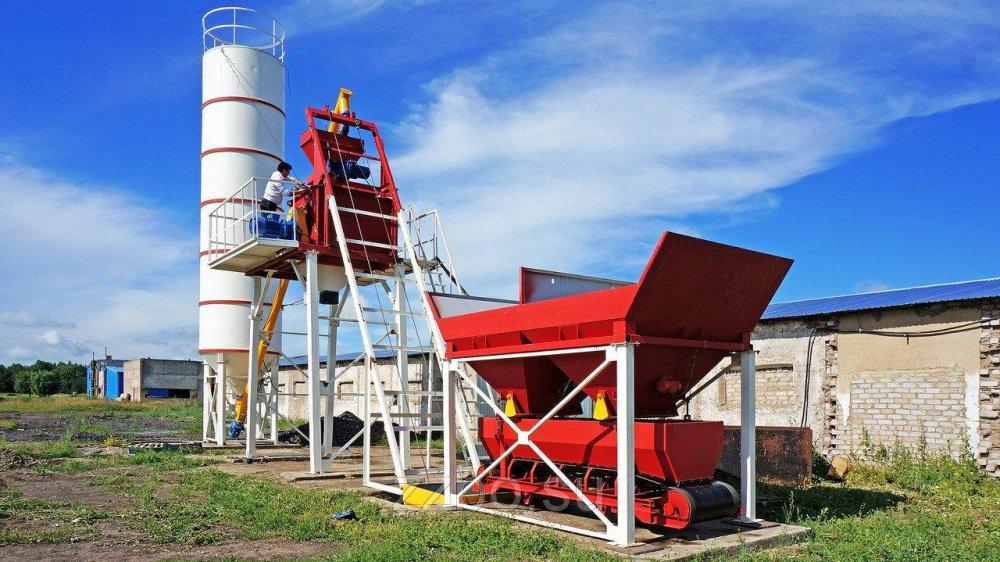 Купить Мини-бетонный завод Бюджет-10 ZZBO