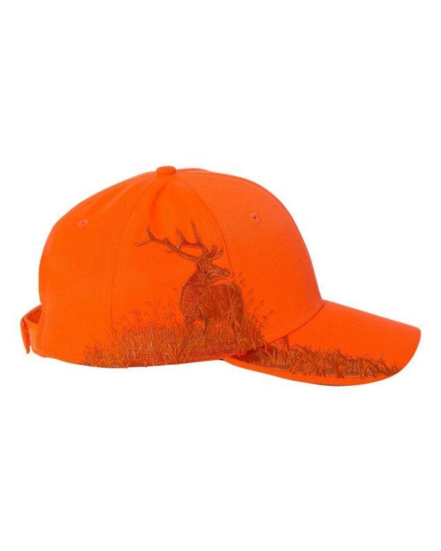 Кепка для охоты оранжевая Dri Duck wildlife series Elk Blaze