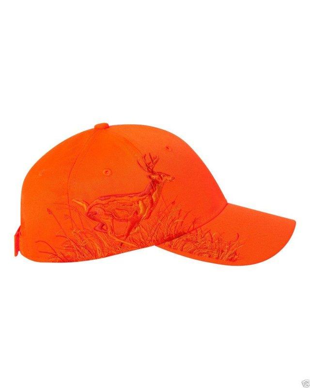 Кепка для охоты оранжевая DRI DUCK Running Buck Blaze