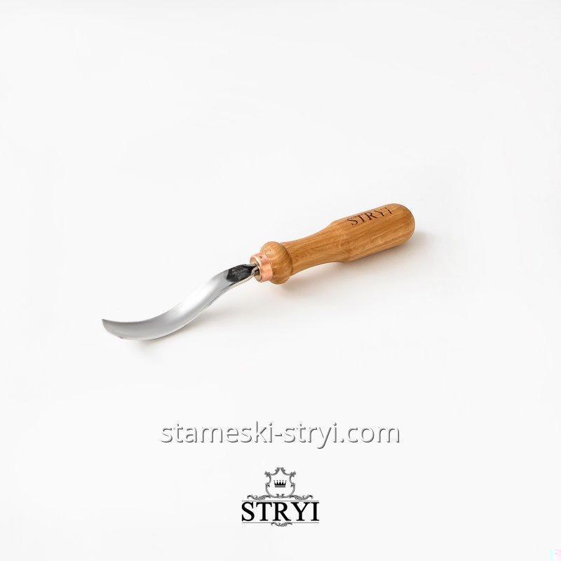 Клюкарза STRYI для резьбы по дереву отлогая, 15 мм, арт.10715
