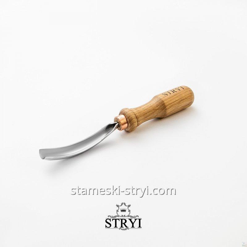 Клюкарза STRYI для резьбы по дереву полукруглая, 15 мм, арт.10915