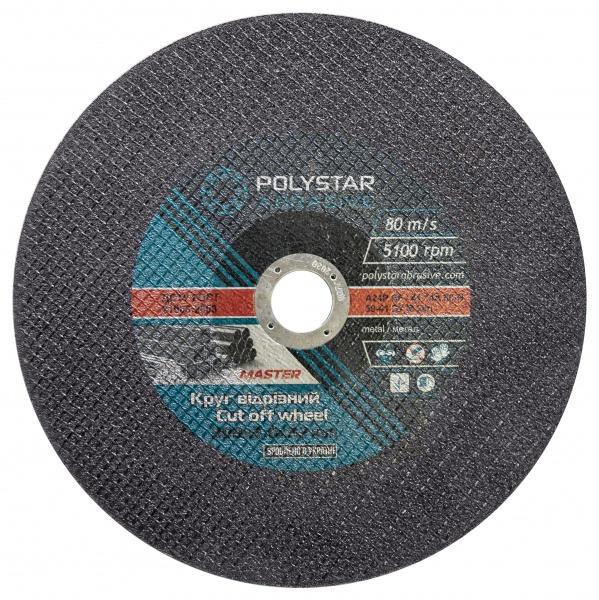 Купить Круг отрезной для металла Polystar 41 14A 300 3,0 32