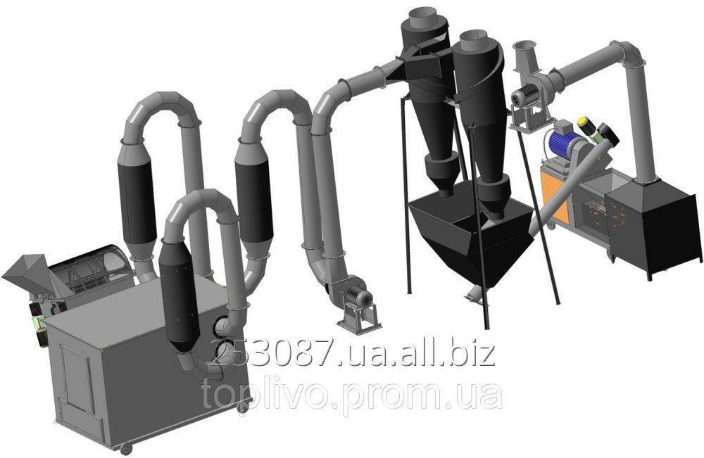 Купить Линия для производства топливных брикетов ЛПТБ - 350