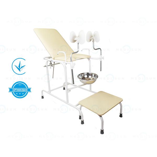 Кресло гинекологическое кг-2м Завет, смотровое кресло гинеколога