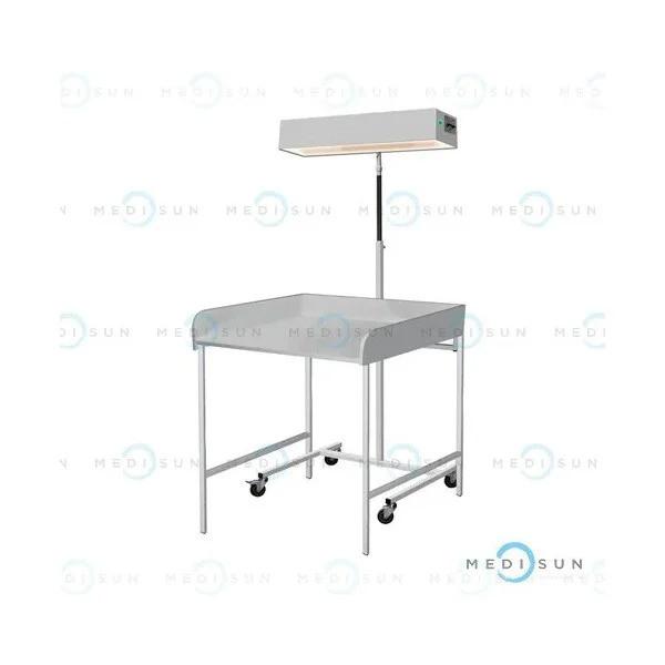 Облучатель для верхнего обогрева младенца с пеленальным столиком лво-02 медицинский Завет