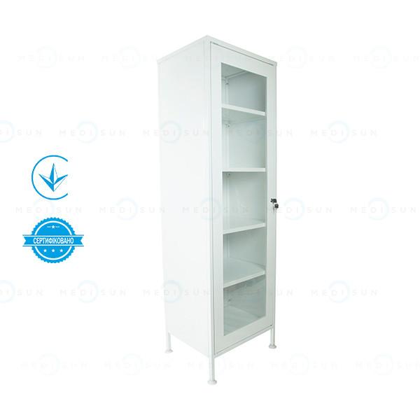 Шкафчик для медикаментов ШМ-1 (аптечный шкаф витрина) одностворчатый Завет