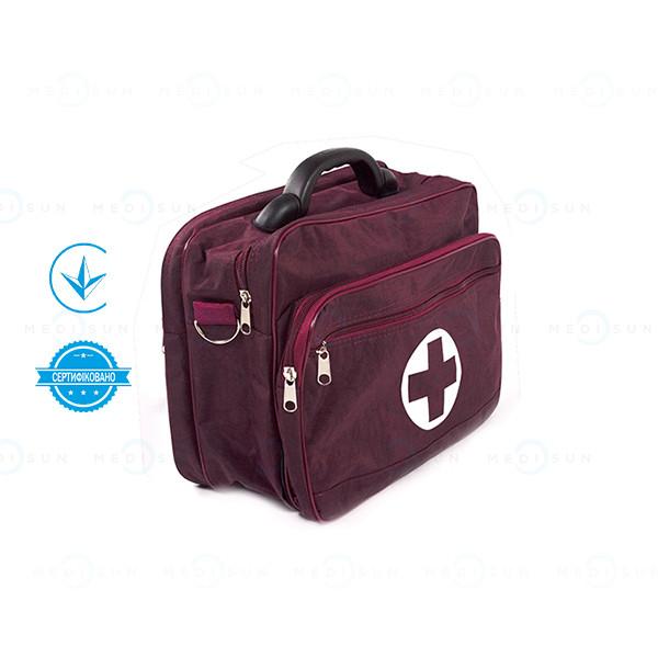 Сумка-укладка медсестры (фельдшера) сум с набором медицинская Завет