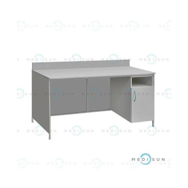 Стол лабораторный, стол письменный для врача с закрывающейся тумбой СЛ-001.04 Завет