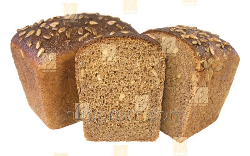Хліб Заварний з Соняшником Заморожені напівфабрикати
