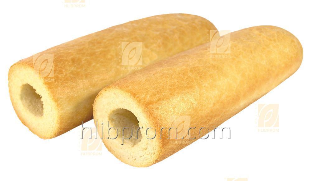 Pulla Hot Dog rei'itetty jäädytetty esikypsennetty