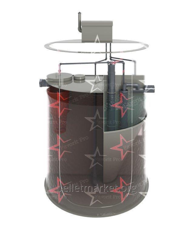 Автономная канализация биологическая очистка стоков Favorit Pro 5L 1,5 м3/сутки