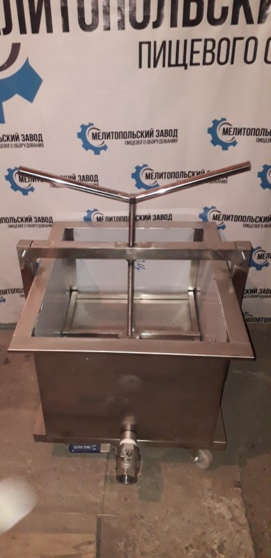 Пресс телега для приготовления творога 700х600х550 на 150 литров