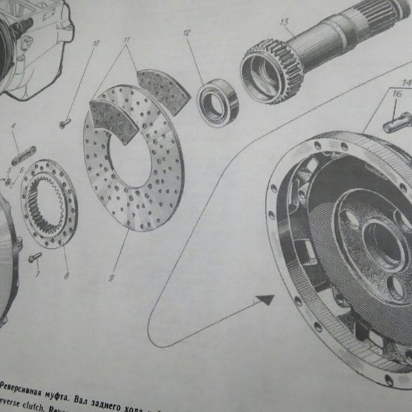 Купить Барабан Муфты Реверс редуктор на двигатель 3Д12 (сб.1225-03-1)