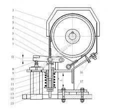 Тормозной шкив механизма подъема