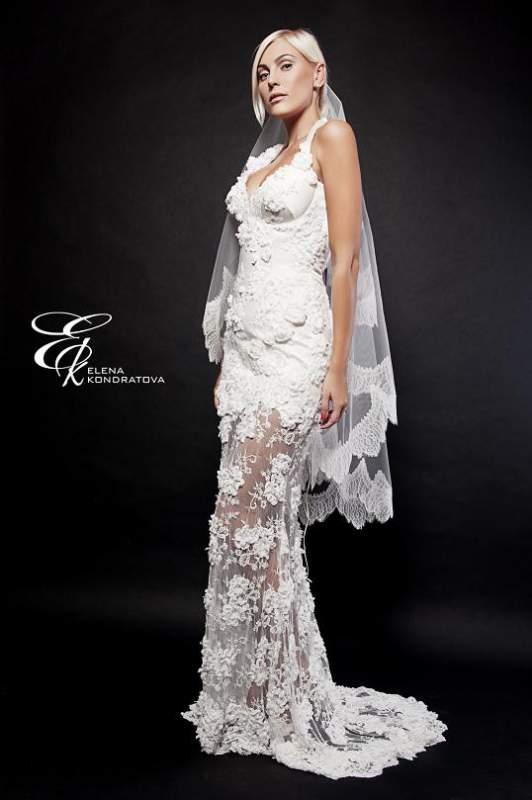 Платья кружевные свадебные платье