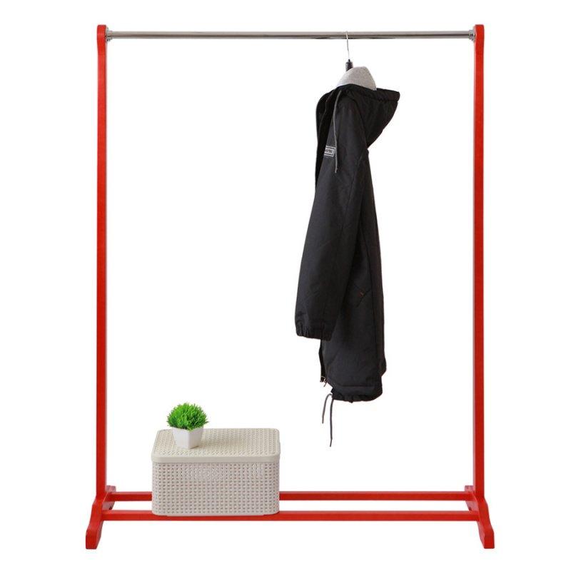 Деревянная стойка для одежды Fenster Статус Красный