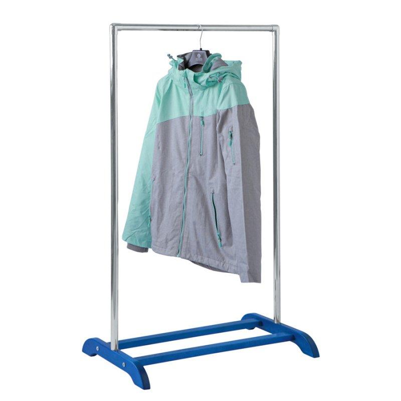 Деревянная стойка для одежды Fenster Аккорд Синий