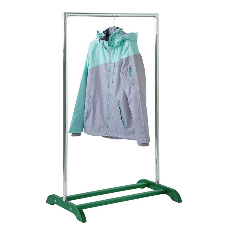 Стойка для одежды из натурального дерева Fenster Аккорд Малахит
