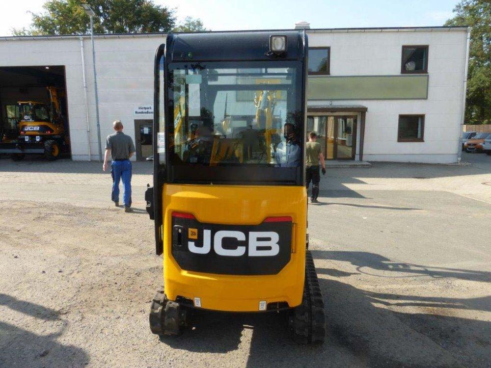 Мини экскаватор JCB 19C-1.