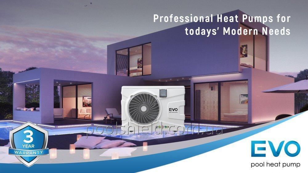 Инверторный тепловой насос для бассейна EVO EP-270i