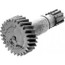 Быстроходная вал-шестерня редуктора механизма изменения вылета стрелы