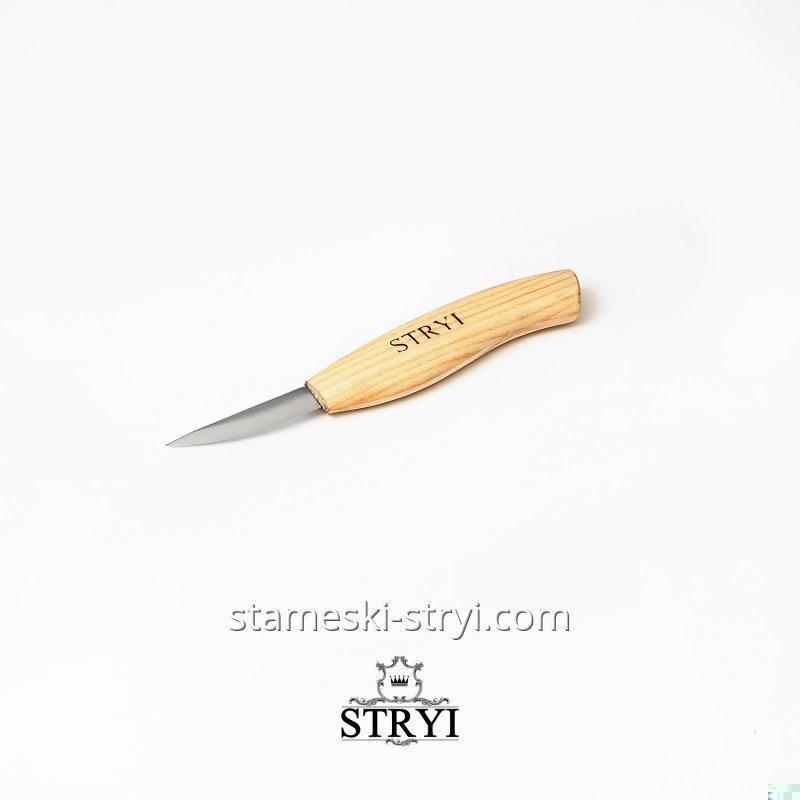 Стамеска нож подрезной для резьбы по дереву STRYI, 58 мм, арт.185812
