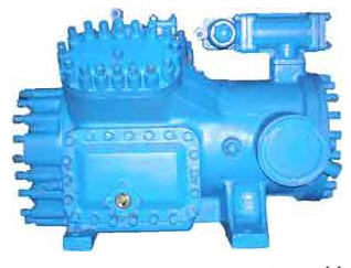 Buy Compressors 4PB14, 4PB20, 4PB28, 4PB35, 4PB36, 4PB50. Refrigerating capacity, kW – 16,8, Diameter of the cylinder – 67,5 mm, the Piston stroke – 50 mm, Number of cylinders – 4, the Rated power of the electric motor, kW - 5,5, Rod of current – variable.