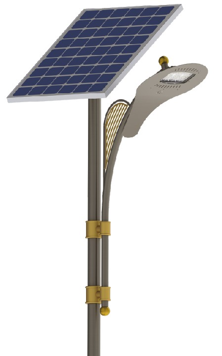 PARK LIGHTING ON SOLAR ENERGY OF 12 W