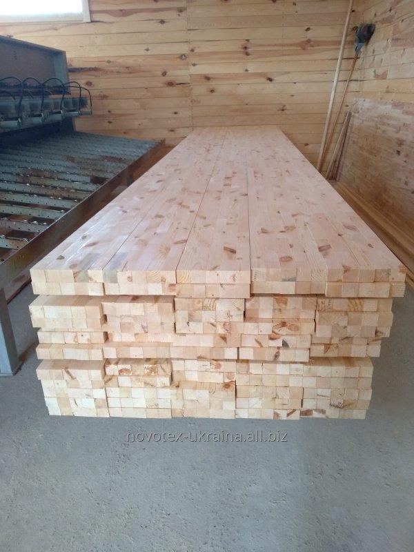Купить Брус строительный. 60*200*4000, 4500, 6000, из сосна, ель, клен, ясень, граб, ольха, береза на экспорт из Украины